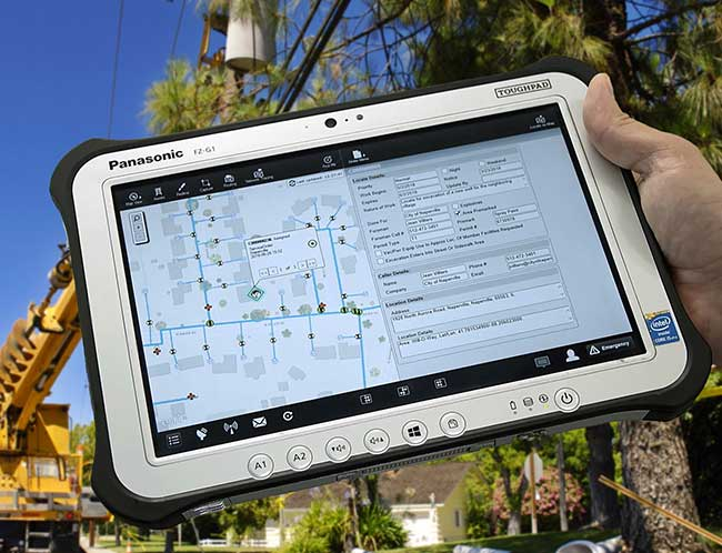 Clevest MWFM on Panasonic tablet